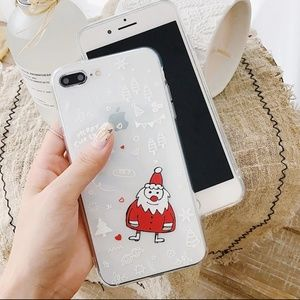 NEW iPhone 7+/8+ Santa Case
